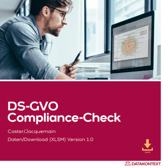 DS-GVO Compliance Check Excel-Tool
