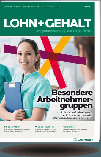 Zeitschrift   LOHN+GEHALT   Fachzeitschrift für ...